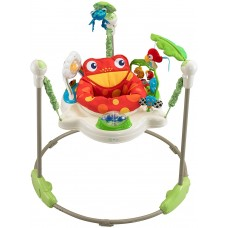 Jumperoo Fisher Price Rainflorest Sapo